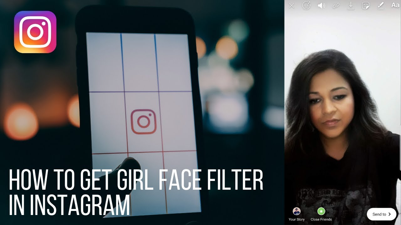 How to trick female face filter for Instagram