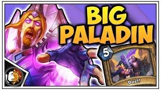 Hearthstone: Legend BIG Paladin (Part 2) - Rise Of Shadows
