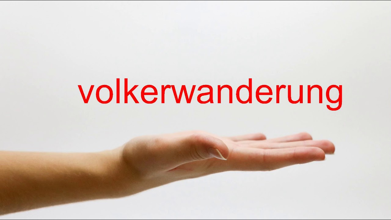 Download How to Pronounce volkerwanderung - American English