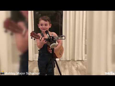 3-year-old Louisiana Boy Rocks Luke Combs 'Beautiful, Crazy