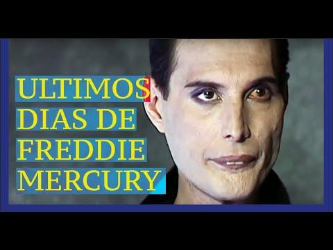ULTIMOS DIAS DE FREDDIE MERCURY