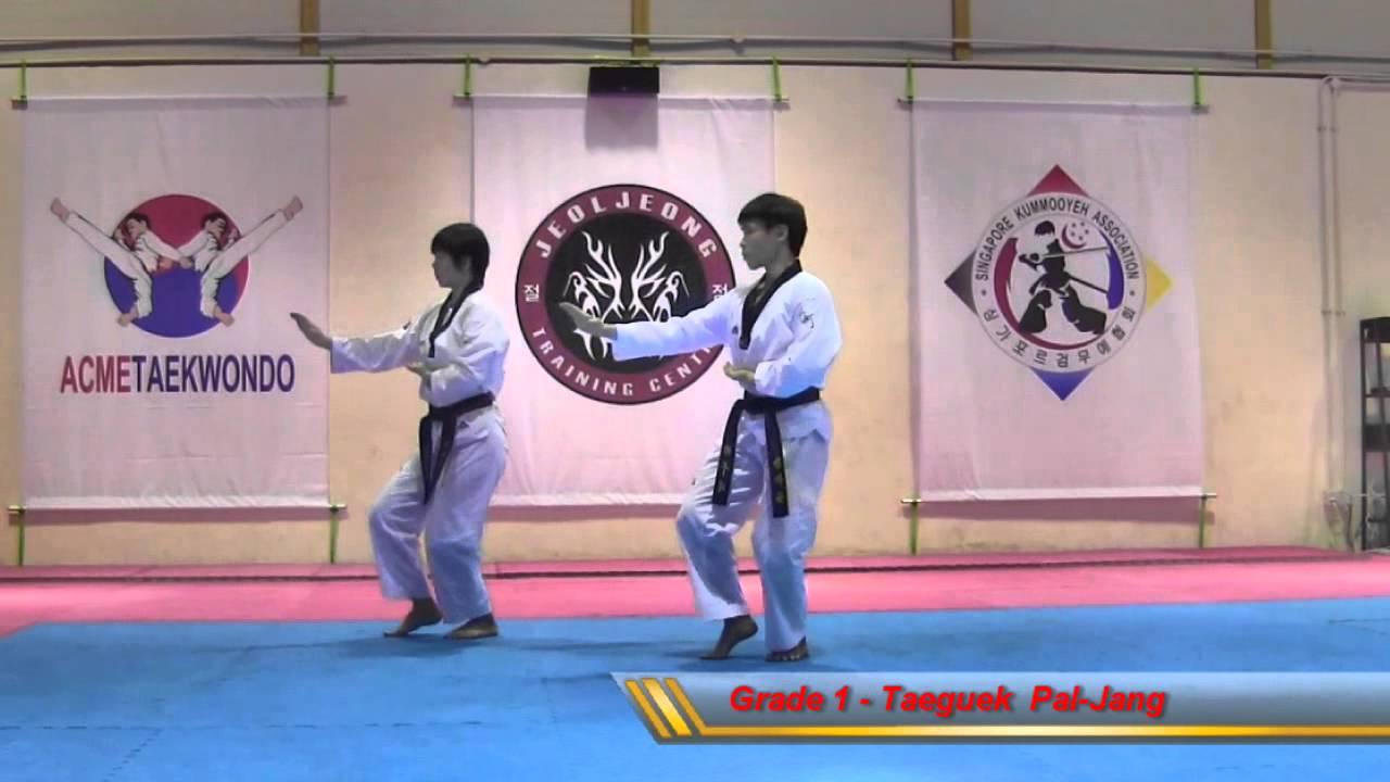 Taekwondo Poomsae (Pattern) - Acme Taekwondo