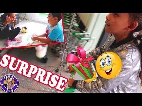 Download Youtube: ÜBERRASCHUNG GELUNGEN? GESCHENKE ZUR EINSCHULUNG | Daily Vlog #125 Our life FAMILY FUN