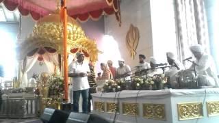 Bhai manjeet singh neemana at guru Nanak darbar du