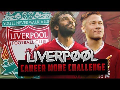 LIVERPOOL CAREER MODE CHALLENGE FIFA 18 - One Season To Glory!!