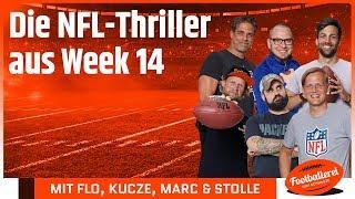 Die NFL-Thriller aus Week 14 | Footballerei SHOW