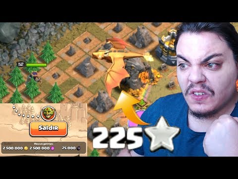Giant Dragon!! Update and New 25 Map Finished Clash of clans