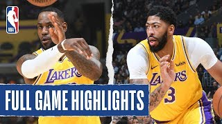 THUNDER at LAKERS | FULL GAME HIGHLIGHTS | November 19, 2019 Video
