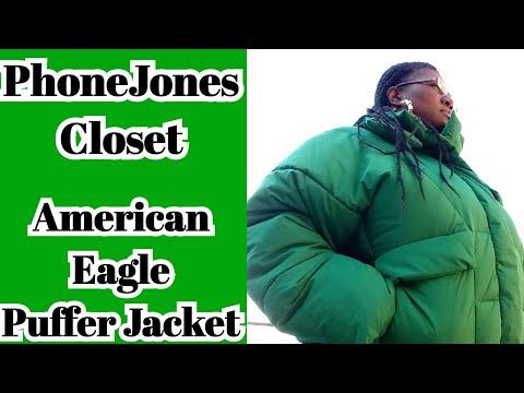 PhoneJones Closet:  American Eagle Puff Jacket