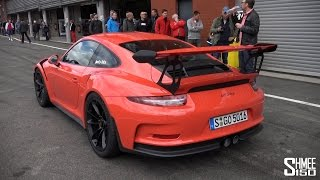 Porsche 991 GT3 RS - Hot Lap at Spa with Jacky Ickx