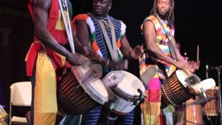 Jalikunda African Drums take the Montserrat African Music Festival by storm