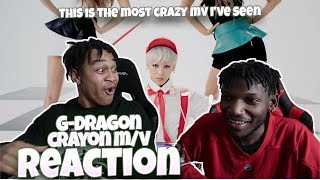 Cover images G-DRAGON - CRAYON(크레용) M/V - REACTION