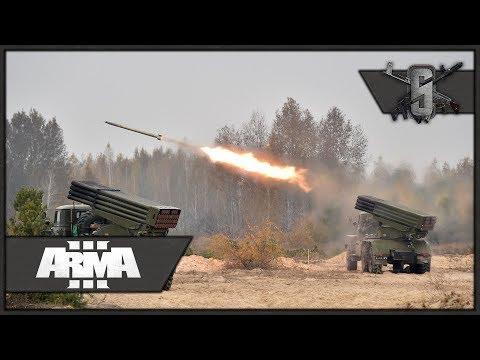 ARTY ROCKET STRIKE! 1980's RPG-Gunner - ArmA 3 - Soviet-Afghan War