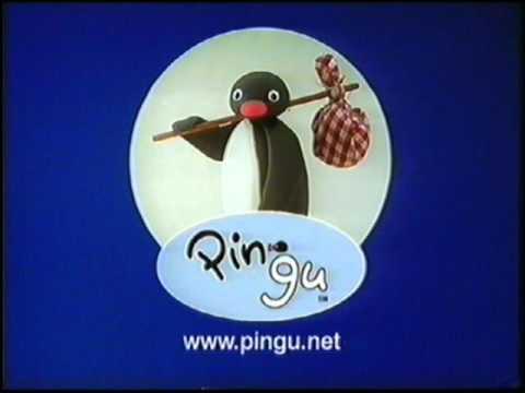 początek kasety vhs z hit entertainment pingu i trampolina uk z 2004 roku