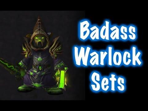 10 Badass Male Warlock Transmog Sets #1 (World Of Warcraft)