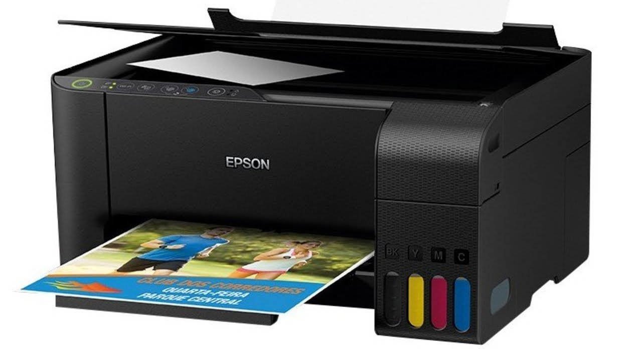 Impressora Multifuncional Epson EcoTank L3150 Tanque de Tinta Wi Fi