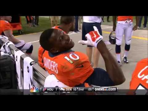 Peyton Manning & The Broncos Do The Jailhouse Rock
