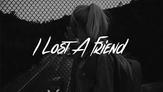 Gambar cover FINNEAS - I Lost A Friend (Lyrics)