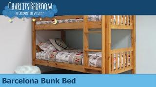 Barcelona Bunk Bed - Charlies Bedroom