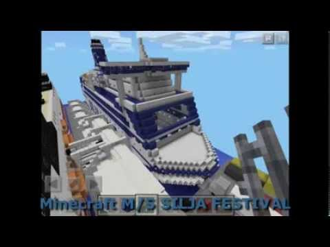 Minecraft Silja Festival- a cruise ferry