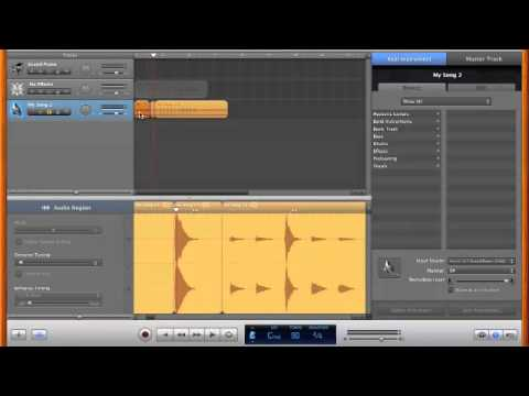 How to Sample with Garageband - YouTube