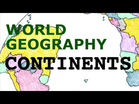 Geography Song, Continents