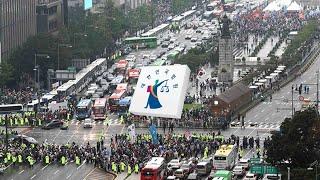 """법원도 광복절 집회 제동…""""공공복리 중대 영향…"""