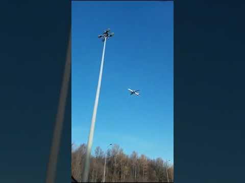 Lori -  Plane Looks Like It's Stuck In The Air!