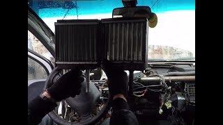 видео Замена радиатора печки Матиз — Daewoo Matiz. Замена печки радиатора на дэу матиз