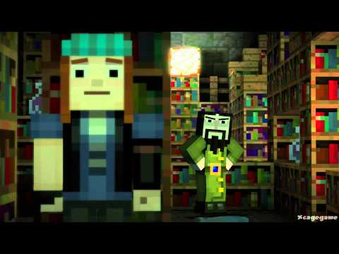 Minecraft Story Mode - Full Episode 1  -  Gameplay Walkthrough - No Commentary [ HD ]