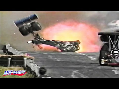 ★Crash Compilation #2 【Drag Racing, 80's & 90's Crash】