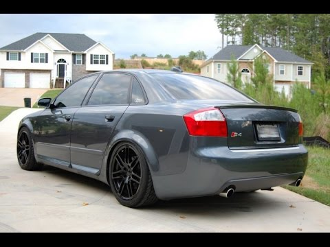 brutal 2005 audi s4 b6 exhaust sound - youtube