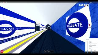 Roblox Mind The Gap Timelapes: Rose line Deansgate to Ostbank