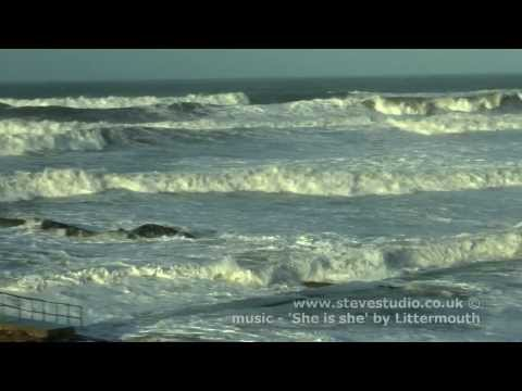 Record Atlantic Surge Storm Hits Bude Cornwall 7th Jan 2014