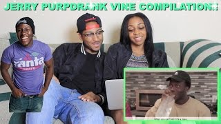 Couple Reacts : Jerry Purpdrank Vines Compilation 2016 Reaction!!!