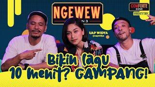 DOKTER ATAU MUSIK? MUSIK LAH!! | NGEWEW Season 3 bareng Uap Widya