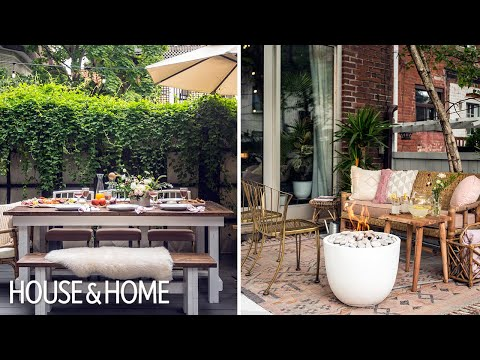 Backyard Makeover: From Boring To Boho