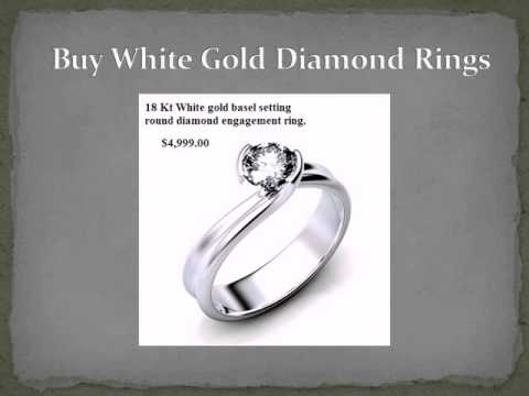Buy White Gold Diamond Engagement Rings UK, UAE, Australia - Dubai Wholesale Diamonds