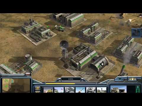 C&C Generals - 1 Vs 7 Brutal Armies On Twilight Flame (USA)