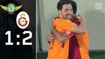 Wichtiges Tor zum Schluss: Akhisarspor - Galatasaray I 1:2  | Highlights | Türkischer Pokal | DAZN