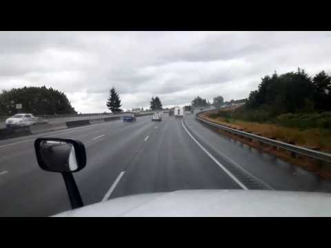 Bigrigtravels Live! Marysville,  Washington to Post Falls,  Idaho Interstate 5 & 90 August 31, 2016