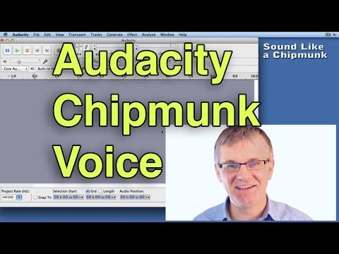 audacity tutorial how to make a chipmunk voice voice effects change pitch vocal effects. Black Bedroom Furniture Sets. Home Design Ideas