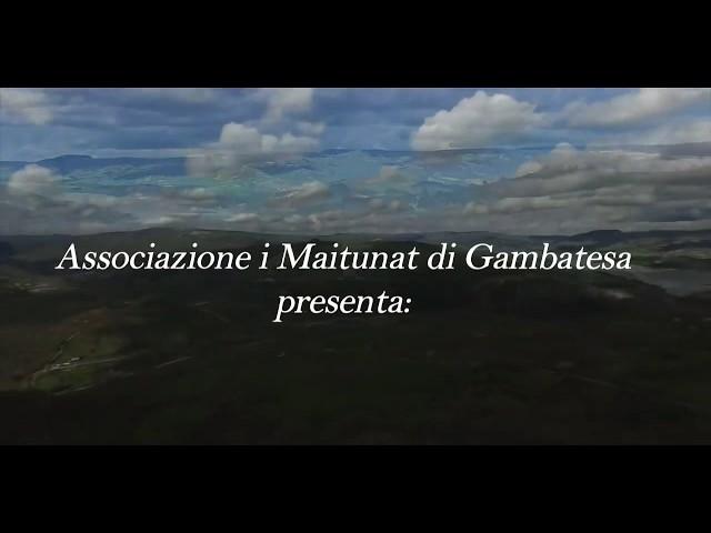 Trailer Maitunat di Gambatesa - capodanno 2017 - 2018