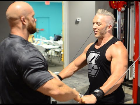 How to Get a BIGGER Chest Doing Cable Pectoral Fly with IFBB Pro Ben Pakulski