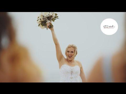Malibu West Beach Club Wedding Venue | Wedding Video Kelli & Devon|
