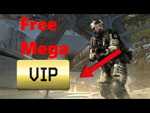Warface: How to get free Mega Vip!