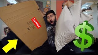 BUYING SO MUCH SUPREME ONLINE!! *MY BIGGEST HYPEBEAST UNBOXING YET*