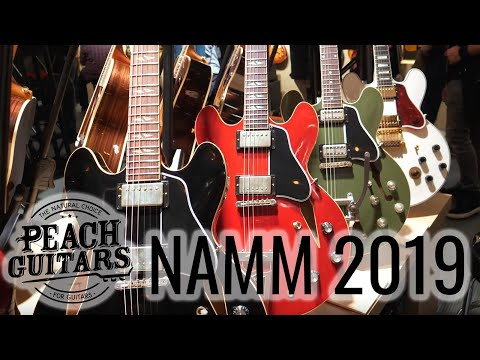 Peach Guitars at NAMM 2019 Day 2: Gibson ES Models