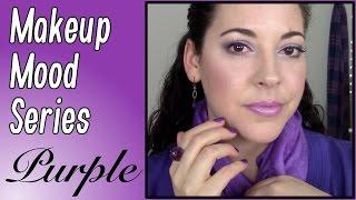 Makeup Mood Series | Purple Look Tutorial & Color Psychology!