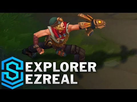 Explorer Ezreal (2018) Skin Spotlight - League of Legends